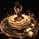 Cassiopeia-Feuershow-Hoop
